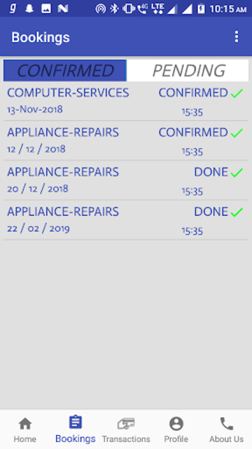 Doorstep Services - Variety Of Home Services screenshot 3
