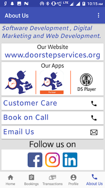 Doorstep Services - Variety Of Home Services screenshot 8