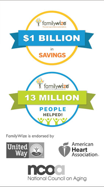 FamilyWize Prescription Discount Card screenshot 1