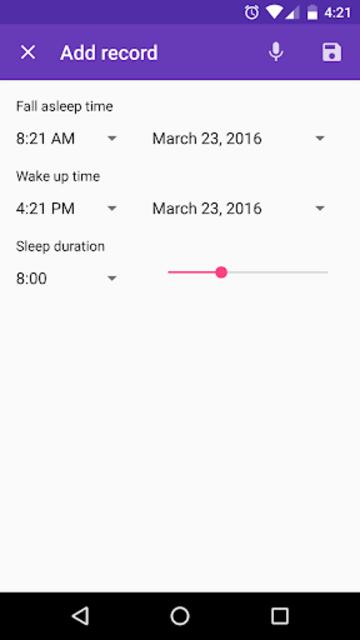 Healthy Sleep Diary screenshot 4
