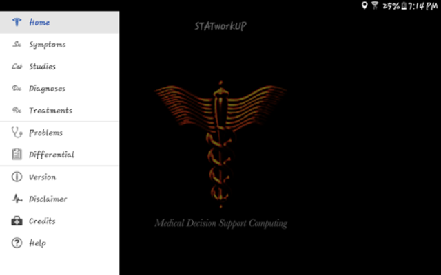 STATworkUP DDx Clinic Differential Diagnosis Guide screenshot 17