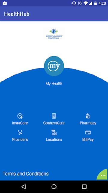 Intermountain Health Hub screenshot 1