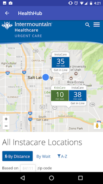 Intermountain Health Hub screenshot 3
