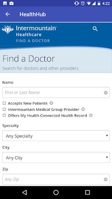 Intermountain Health Hub screenshot 5