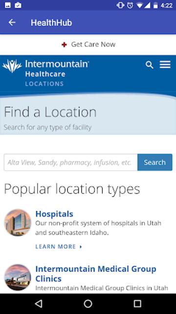 Intermountain Health Hub screenshot 6