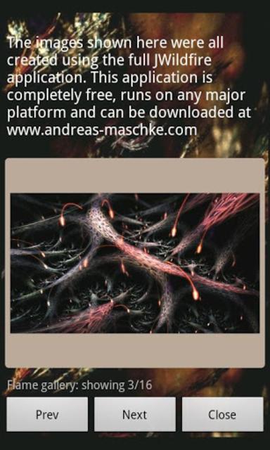 JWildfireMini screenshot 1