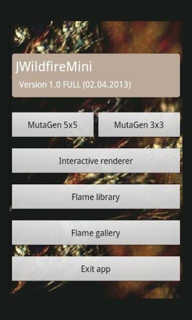 JWildfireMini screenshot 4