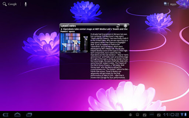 Pure news widget (scrollable) screenshot 3