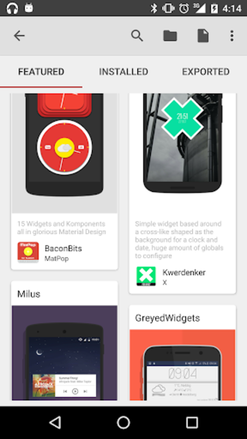 KWGT Kustom Widget Pro Key screenshot 12