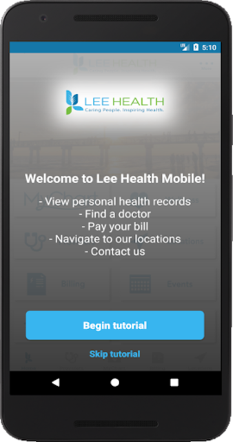 Lee Health Mobile screenshot 1