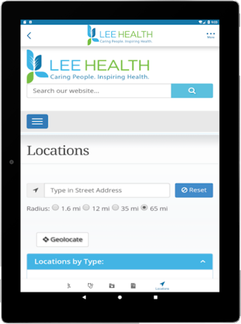 Lee Health Mobile screenshot 12