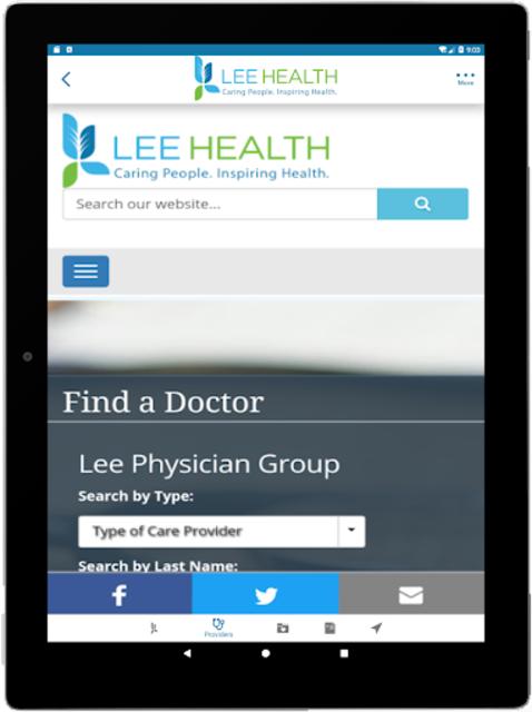 Lee Health Mobile screenshot 14