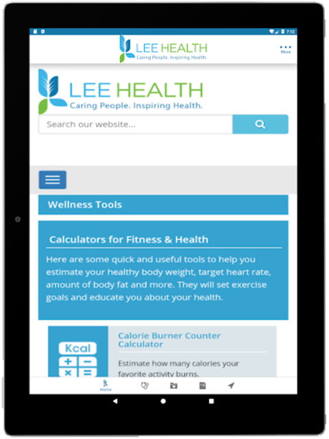 Lee Health Mobile screenshot 15