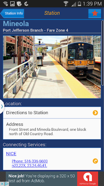 LIRR TrainTime screenshot 3