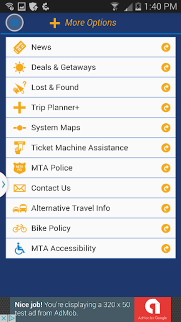 LIRR TrainTime screenshot 5