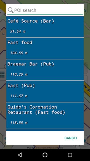 Map of Scotland offline screenshot 7