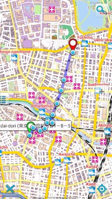 Map of Tokyo offline screenshot 5