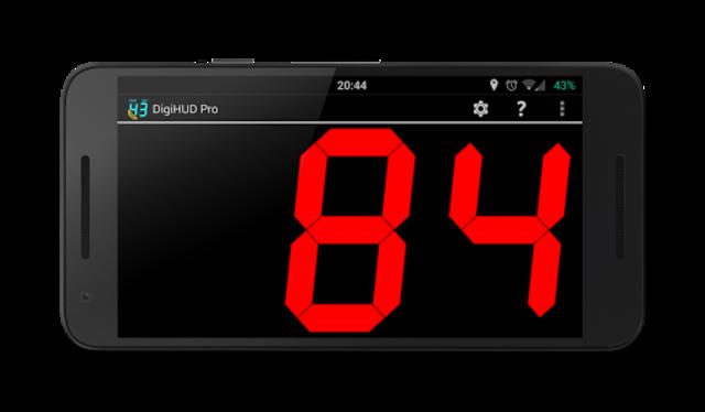 DigiHUD Pro Speedometer screenshot 2