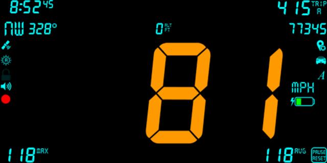 DigiHUD Pro Speedometer screenshot 1
