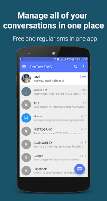PreText SMS | FREE TEXT to Philippines screenshot 3