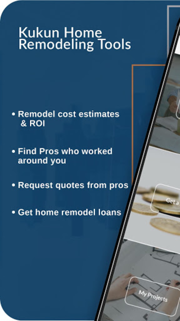 Kukun: Home Remodeling Costs & ROI screenshot 1