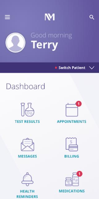 MyNM by Northwestern Medicine screenshot 1