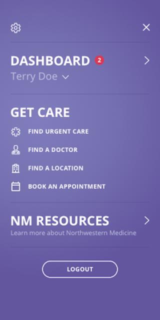 MyNM by Northwestern Medicine screenshot 2