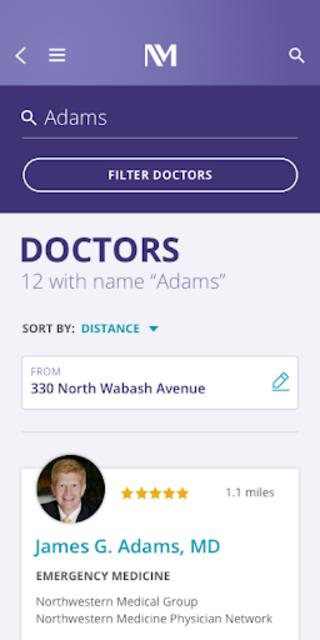 MyNM by Northwestern Medicine screenshot 4