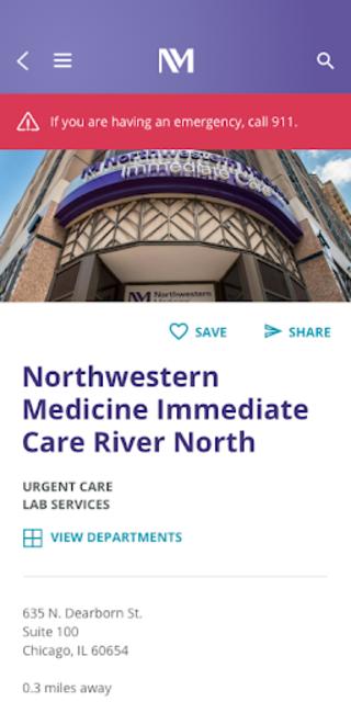 MyNM by Northwestern Medicine screenshot 5
