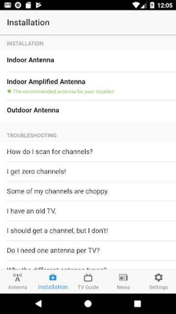 NoCable - OTA Antenna & TV Guide screenshot 4