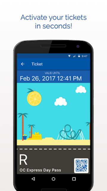 OC Bus Mobile Ticketing screenshot 4