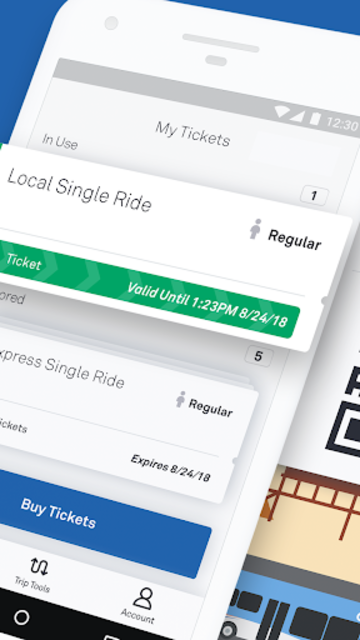 OC Bus Mobile Ticketing screenshot 2