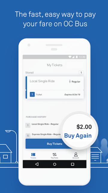 OC Bus Mobile Ticketing screenshot 5