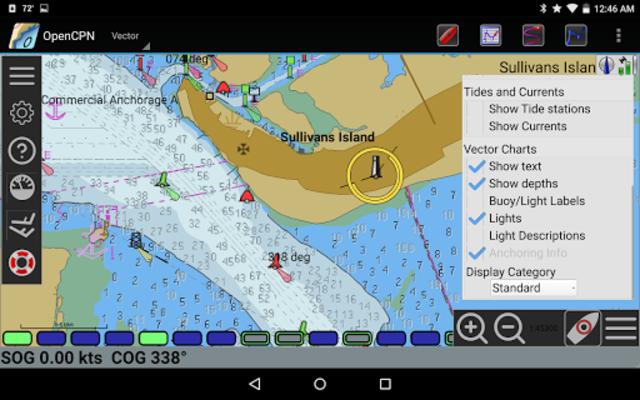 OpenCPN screenshot 8