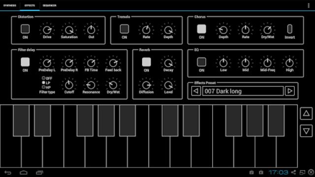 ExSynth (Synthesizer) screenshot 2