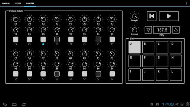 ExSynth (Synthesizer) screenshot 3