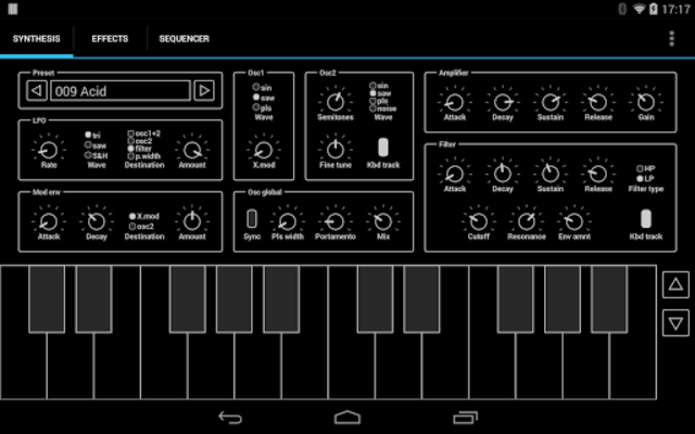 ExSynth (Synthesizer) screenshot 4