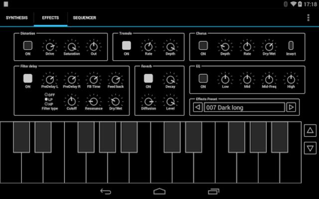 ExSynth (Synthesizer) screenshot 5