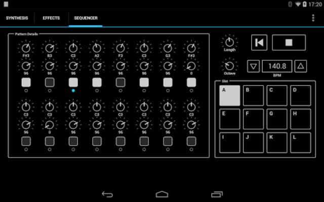 ExSynth (Synthesizer) screenshot 6