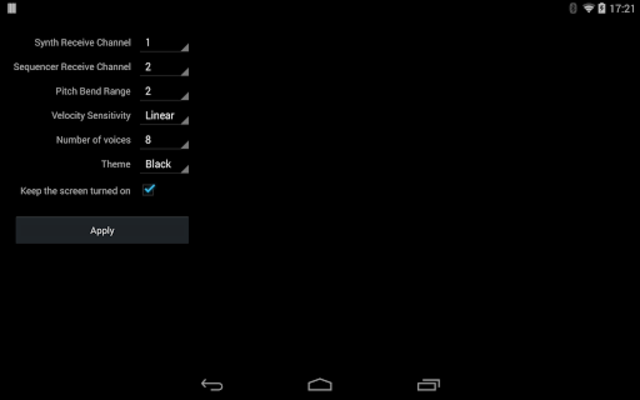 ExSynth (Synthesizer) screenshot 7