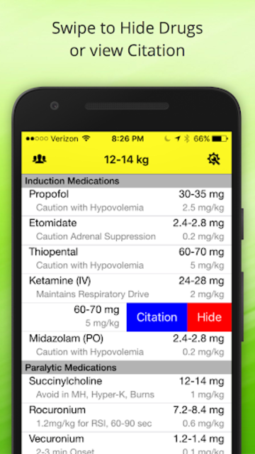 Pedi Safe Medications screenshot 3