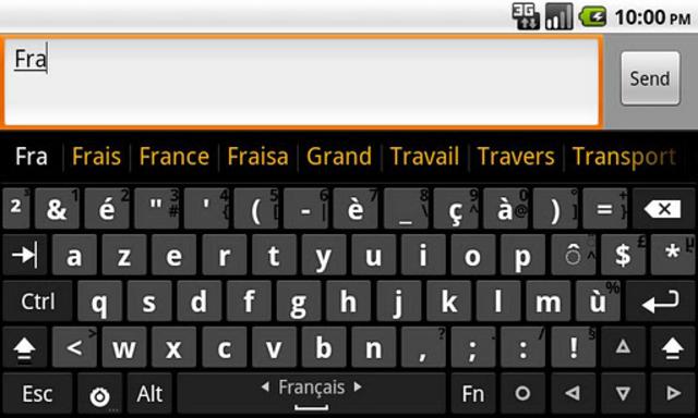 Hacker's Keyboard screenshot 5