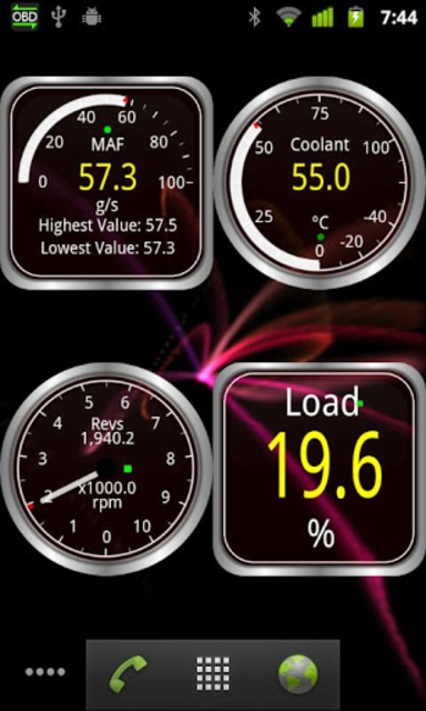 Widgets for Torque (OBD / Car) screenshot 3