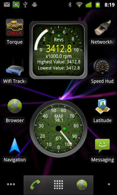 Widgets for Torque (OBD / Car) screenshot 4