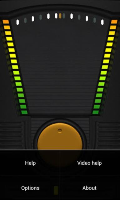 Tilt Theremin screenshot 2