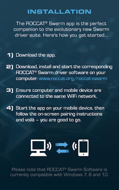 ROCCAT Swarm screenshot 3