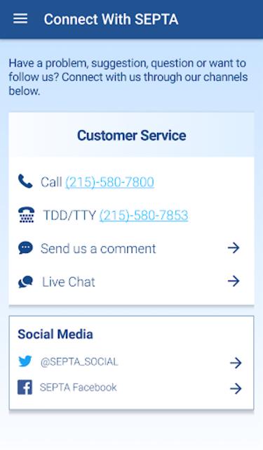 SEPTA screenshot 8