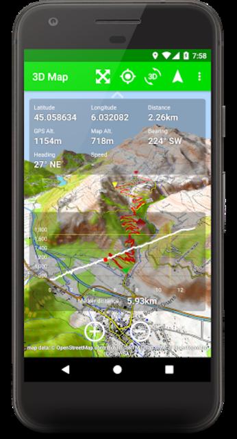 3D Map screenshot 5