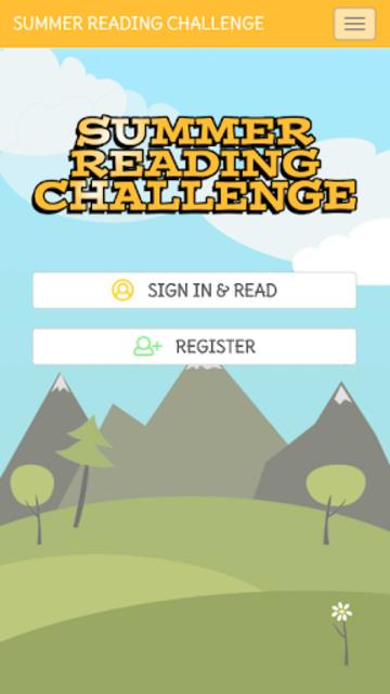 Summer Reading Challenge screenshot 1