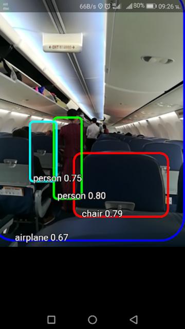Objects Detection Machine Learning TensorFlow Demo screenshot 5